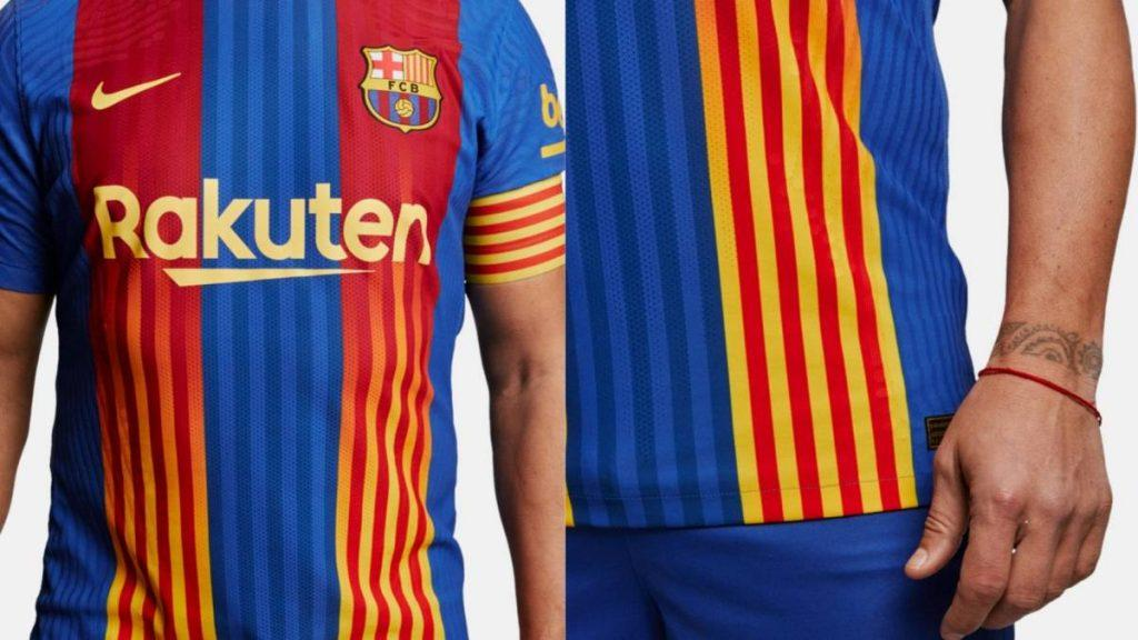 maillot clasico fc barcelone 2021 img2 1