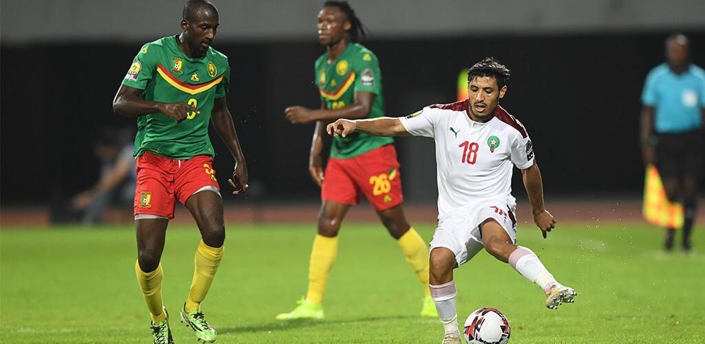 le Maroc etrille le Cameroun et file en finale